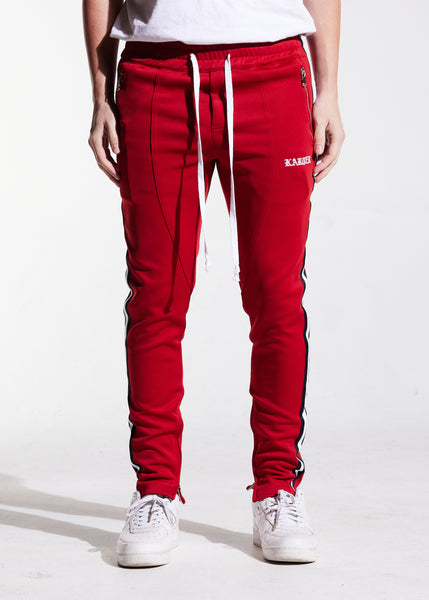 Rocco Track Pants (Burgundy)