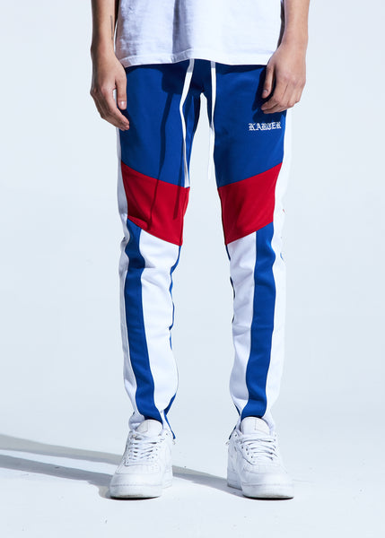 Manzo Track Pants (Royal Blue)