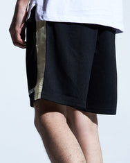 Evander Shorts (Black/Cream)