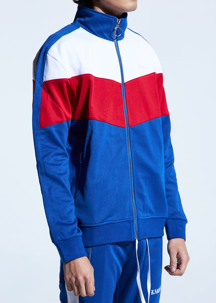 Manzo Track Jacket (Royal Blue)