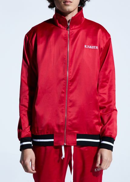 Jerry Track Jacket (Red)