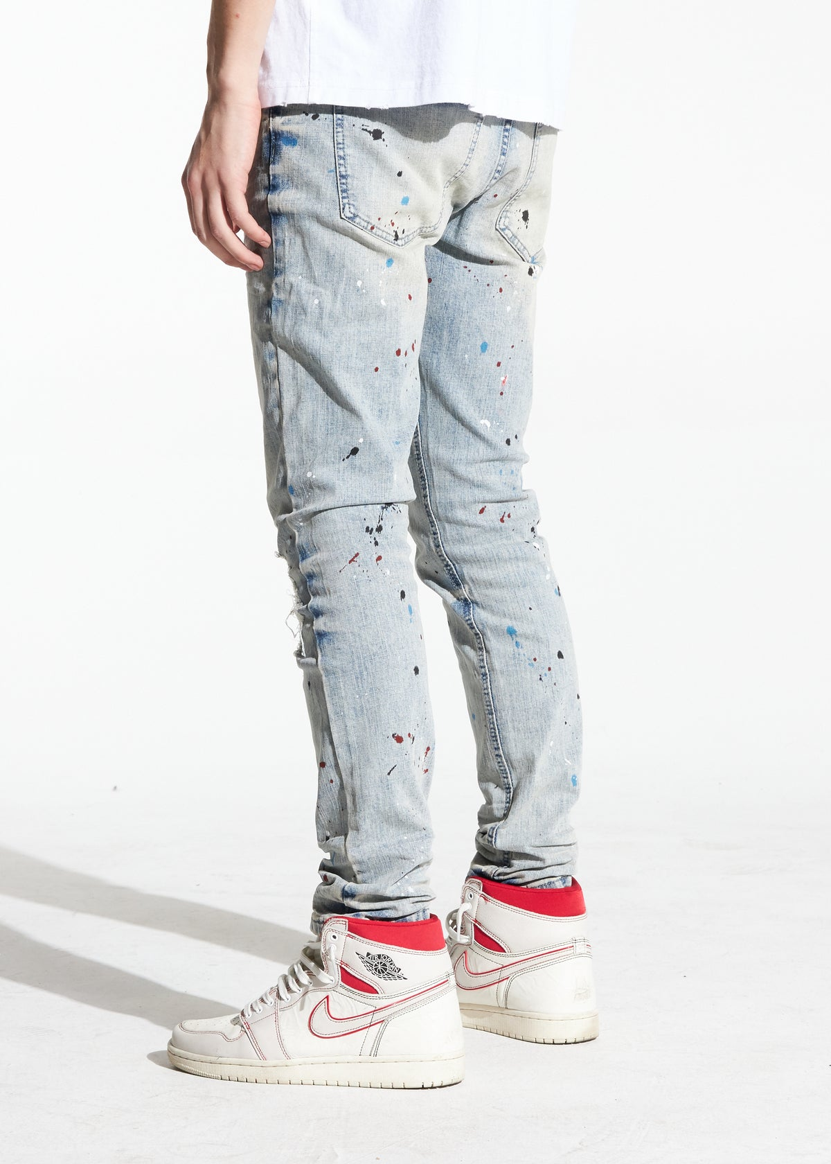Irving Denim (Blue Acid Wash)