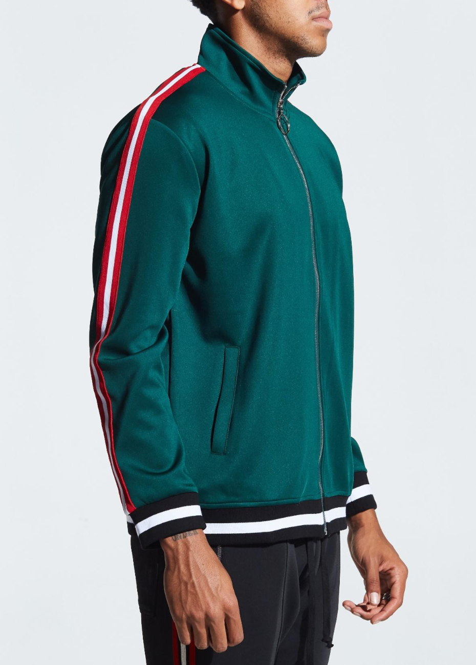 Galactus Track Jacket (Forest Green)
