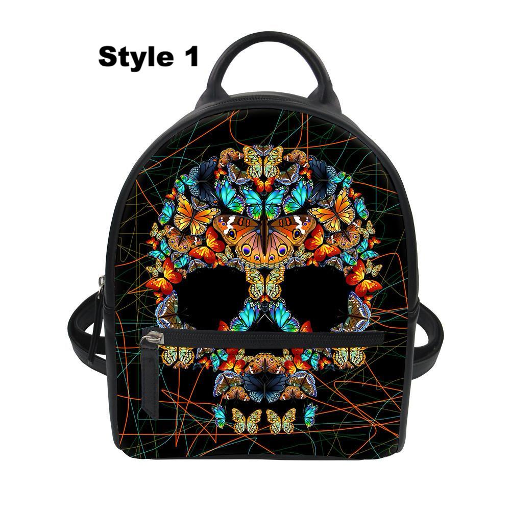 a0c1f251fad0 Sugar Skull Backpacks
