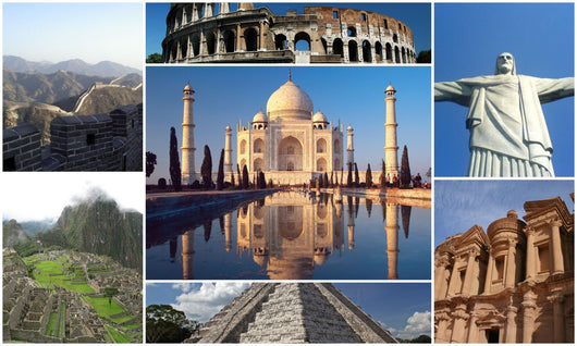 Journey with us to the New Seven Wonders of the World