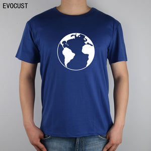 Geography travel planet earth T shirt