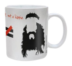 The Big Bang Theory Hippie Ceramic Mug