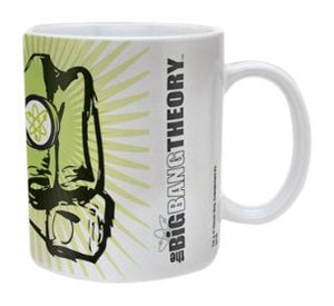 The Big Bang Theory Fist Ceramic Mug