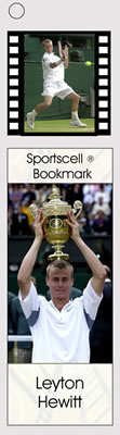 Lleyton Hewitt Sports Cell Bookmark