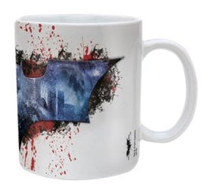The Dark Knight Rises Splatter Ceramic Mug