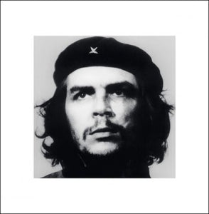 Pyramid International Korda Portrait Che Guevara Art Print, Paper, Multi-Colour, 40 x 40 x 1.3 cm