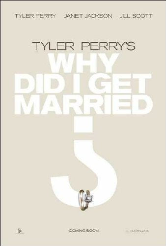 Why did I get married Movie Poster