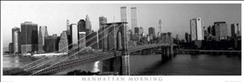 Manhattan Morning Panoramic Poster