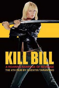 Kill Bill 2 Original Movie Promo Poster