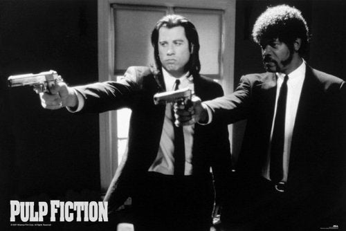 Pulp Fiction Banner / Giant Poster