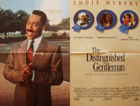 The Distinguished Gentleman Movie Poster
