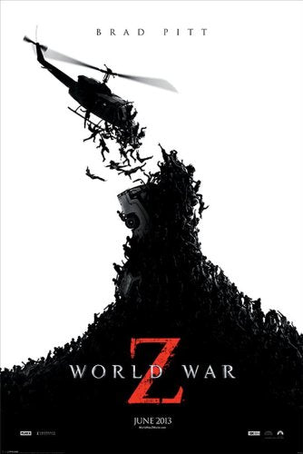 World War Z Teaser Maxi Poster, Multi-Colour