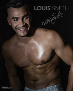 Louis Smith (Chest) - Mini Poster - 40cm x 50cm