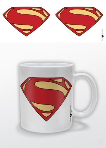 Man Of Steel 1-Piece Ceramic Logo Mug