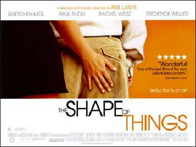 The Shape of Things Movie Poster