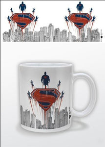 Man Of Steel 1-Piece Ceramic Flying Mug