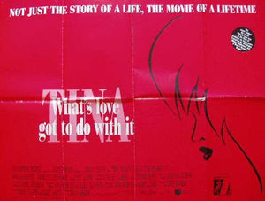 What's Love Got To Do With It Movie Poster