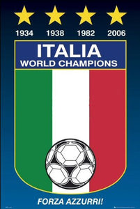 Italy (World Cup) - Maxi Poster - 61cm x 91.5cm