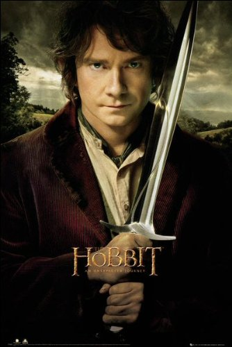 The Hobbit (Bilbo Sword) - Maxi Poster - 61cm x 91.5cm