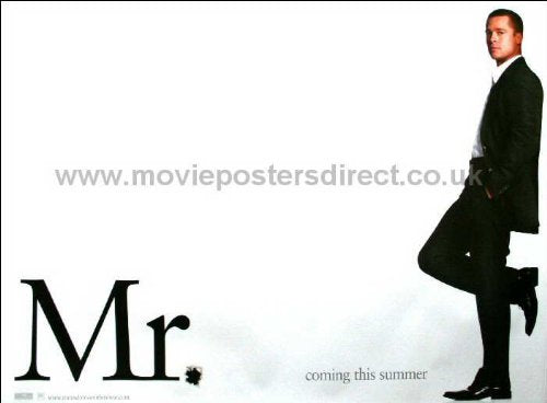 Mr and Mrs Smith Movie Poster
