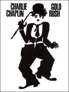 The Gold Rush (Charlie Chaplin) Art Print Poster