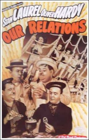 Our Relations (Laurel and Hardy) Movie Poster