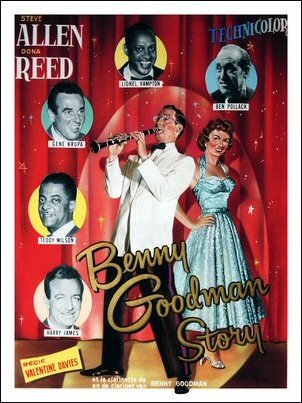 The Benny Goodman Story Art Print Poster