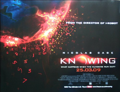 Knowing Movie Poster