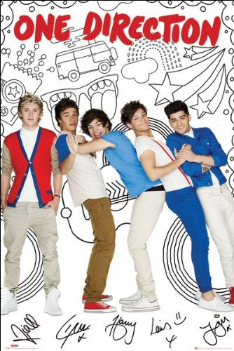 One Direction (Cartoon) - Maxi Poster - 61cm x 91.5cm