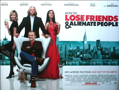 How to Lose Friends & Alienate People Movie Poster