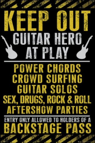 Keep Out (Guitar Hero) - Maxi Poster - 61cm x 91.5cm