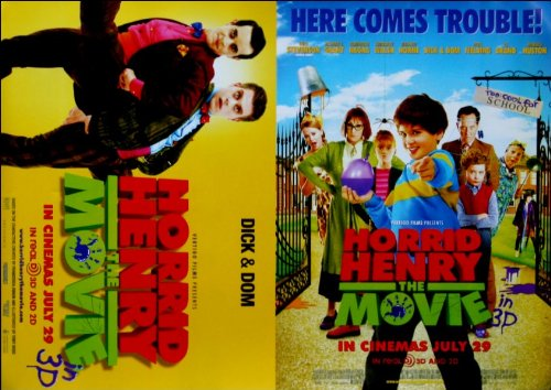 Horrid Henry: The Movie Movie Poster