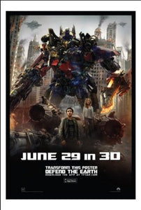 Transformers 3: Dark Of The Moon Original Movie Promo Poster