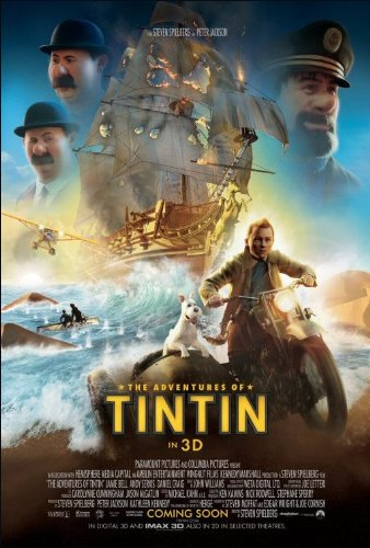 The Adventures of Tintin: The Secret of the Unicorn Movie Poster