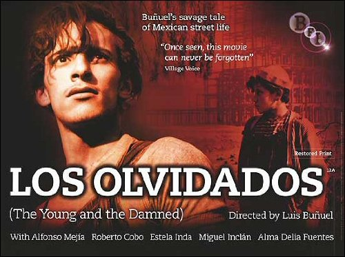 Los Olvidados (The Young and Damned) Movie Poster