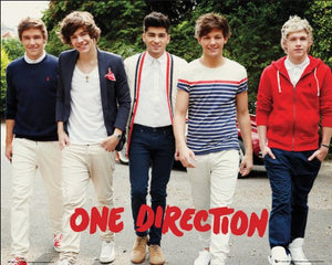 "One Direction Walking Mini Poster 40x50cm (16"" x 20"")"