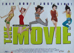 Spiceworld The Movie Poster