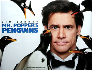 Mr. Popper's Penguins Movie Poster
