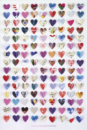 Howard Shooter Paper Hearts Maxi Poster