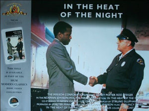 In The Heat of the Night UK Quad - Video Reissue