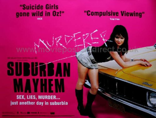 Suburban Mayhem Movie Poster