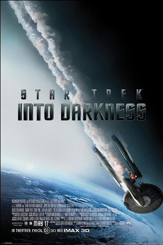 Star Trek Into Darkness Burning Enterprise Maxi Poster, Multi-Colour