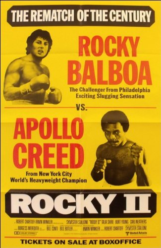 Rocky II Movie Poster