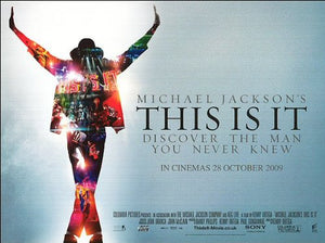 Michael Jackson - This is It Movie Poster