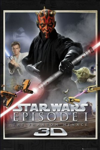 Star Wars Episode 1 One Sheet Maxi Poster 61x91.5cm